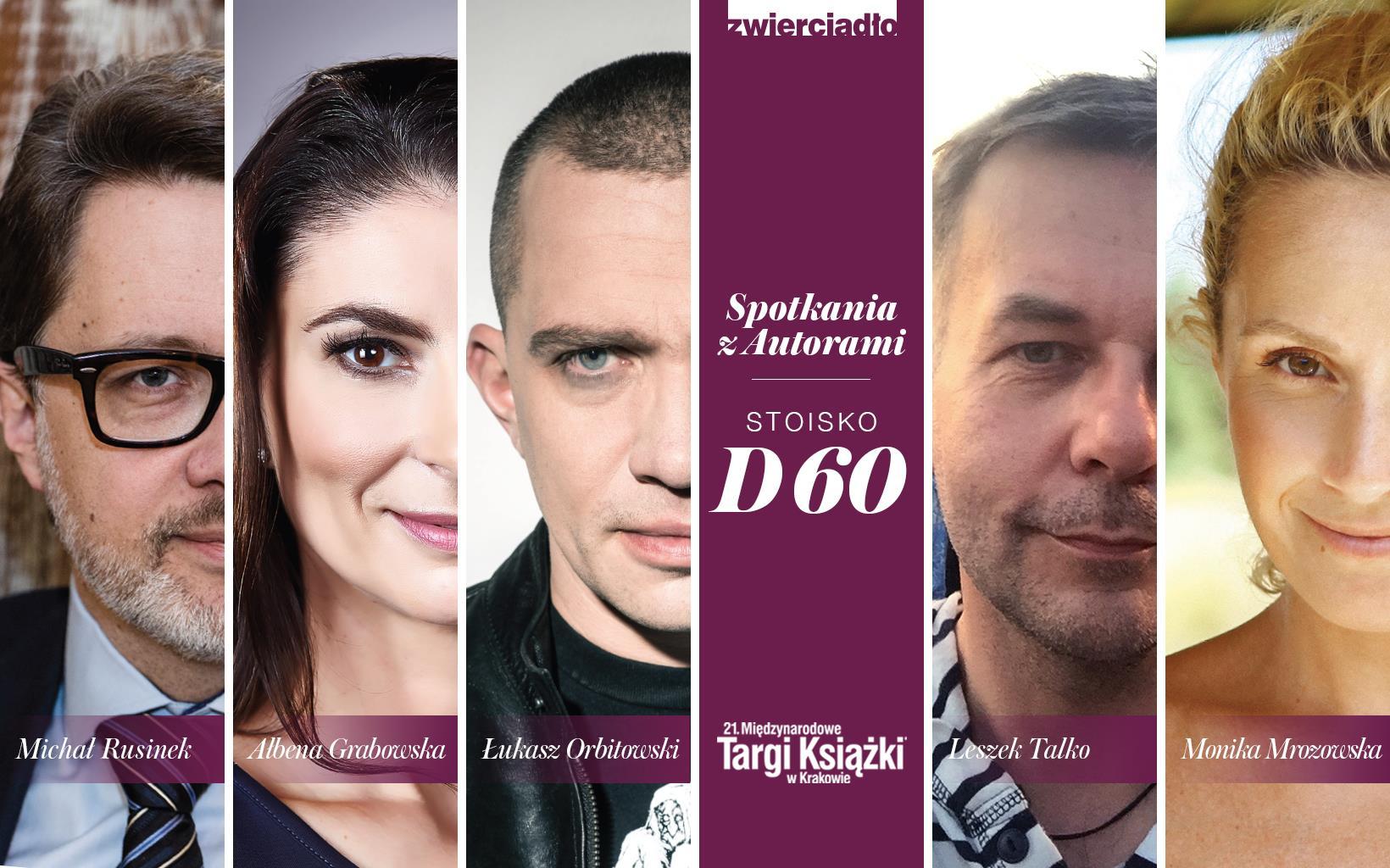 Wydawnictwo Zwierciadło zaprasza na 21. Międzynarodowe Targi Książki w Krakowie