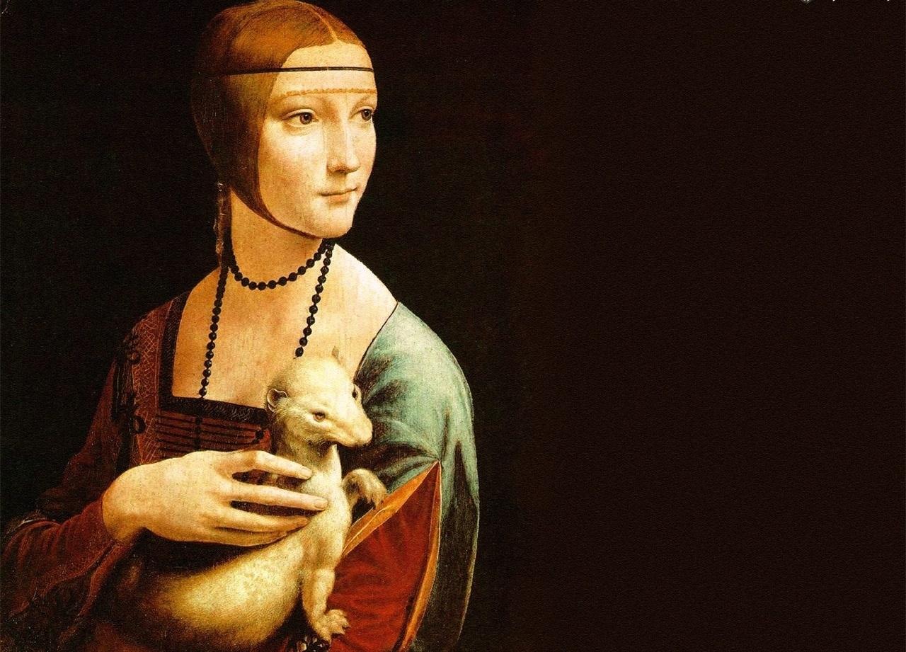"""Słynne dzieło Leonarda da Vinci """"Dama z gronostajem"""" dotarło do Berlina!"""