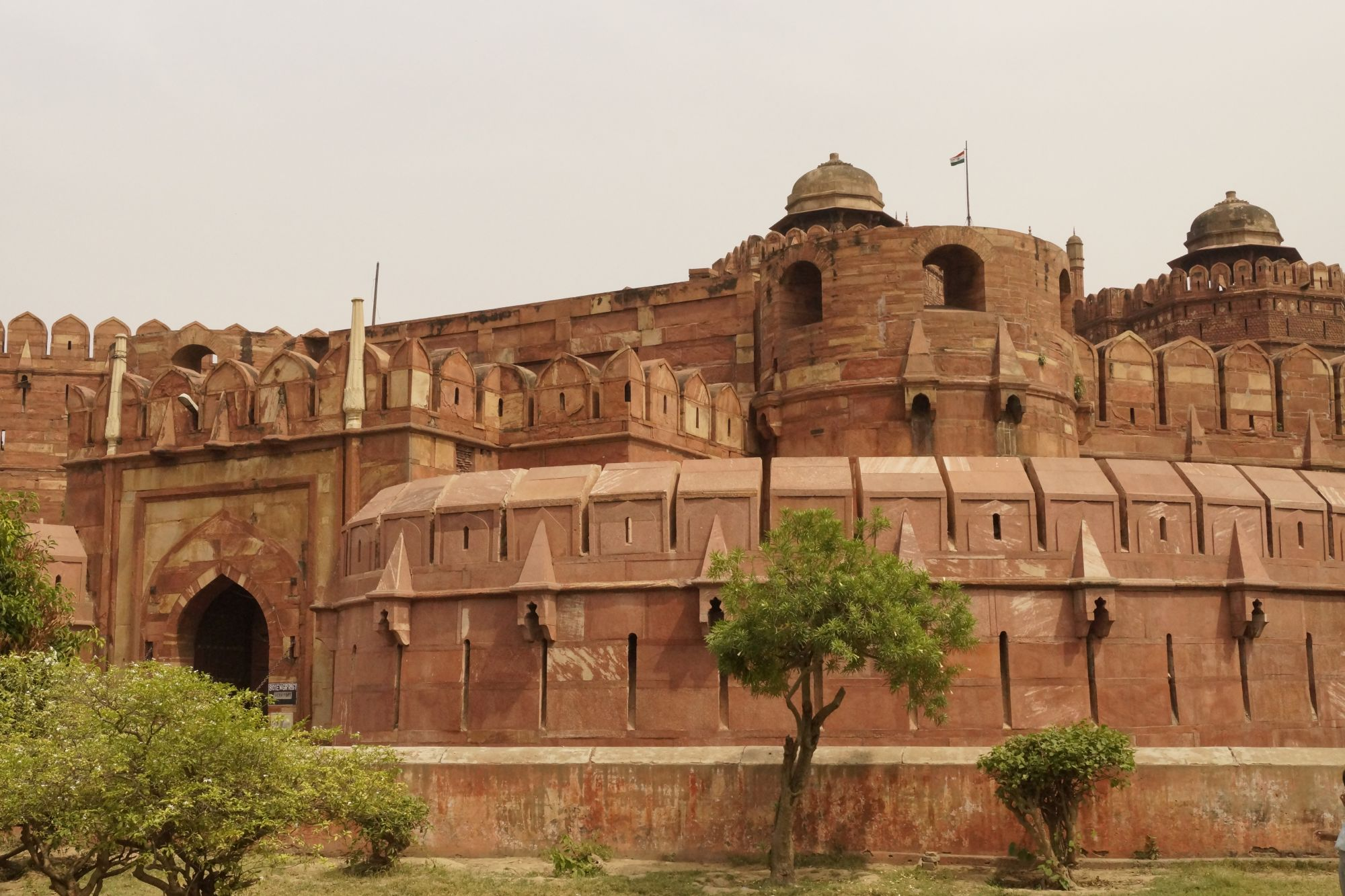 Agra - Czerwony Fort i Wielki Meczet