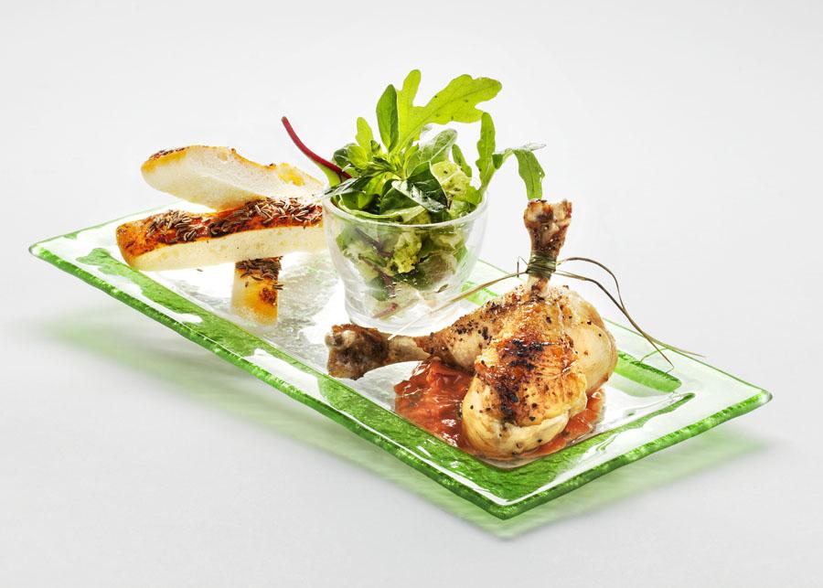 Lizaki z kurczaka w pikantnym sosie