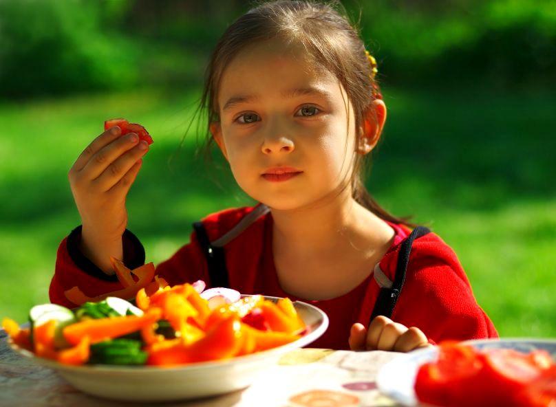 Wegetariańska dieta dobra dla dzieci