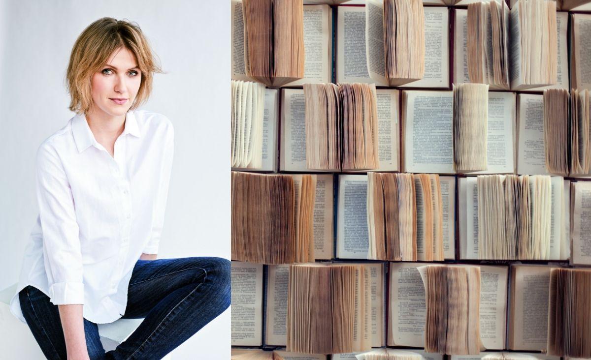 """Joanna Olekszyk, redaktorka naczelna miesięcznika """"Sens""""poleca najlepsze książki o rozwoju osobistym (fot. Zosia Promińska; iStock)"""
