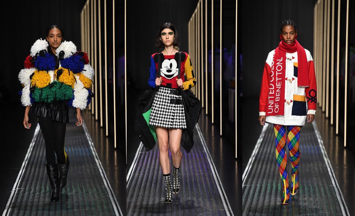 """""""Luciano i ja żyjemy kolorem"""" – tak o swoim partnerstwie z Luciano Benettonem mówi Jean Charles de Castelbajac, nowy dyrektor artystyczny kultowej włoskiej marki. (Fot. materiały prasowe)"""
