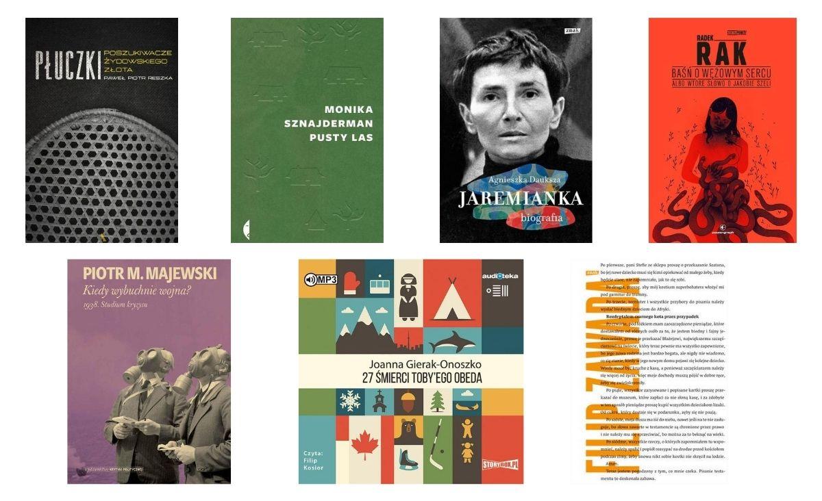 Znamy siedmioro finalistów Nagrody Literackiej Nike