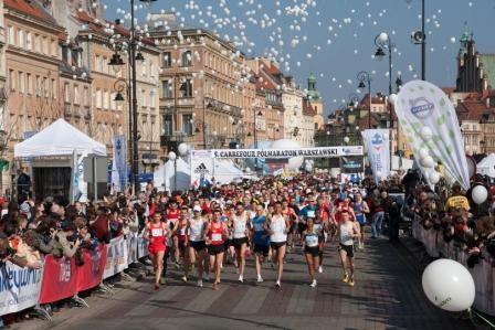 Pobiegnij w Półmaratonie Warszawskim