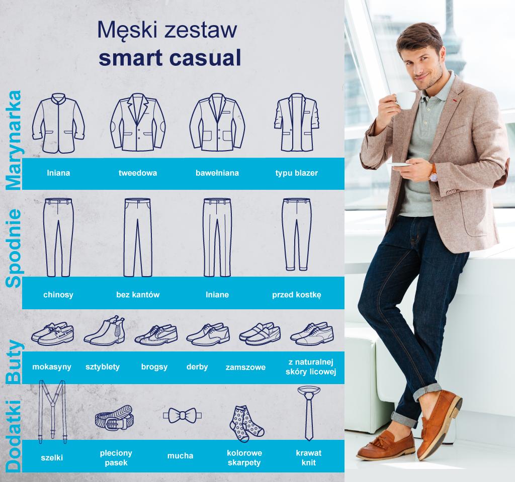 Sportowa wygoda i elegancja w jednym? Poznaj zasady ubioru smart casual