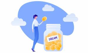 2018/07/pieniadze-szczescia-nie-daja-czy-masz-zdrowy-stosunek-do-pieniedzy-vector-coin-money-in-jar-flat-person-illustration-woman-drop-coin-to-vector-id1180458109.jpg