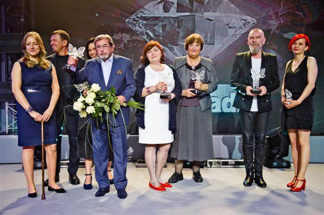 2014: gala rozdania nagród Kryształowych Zwierciadeł