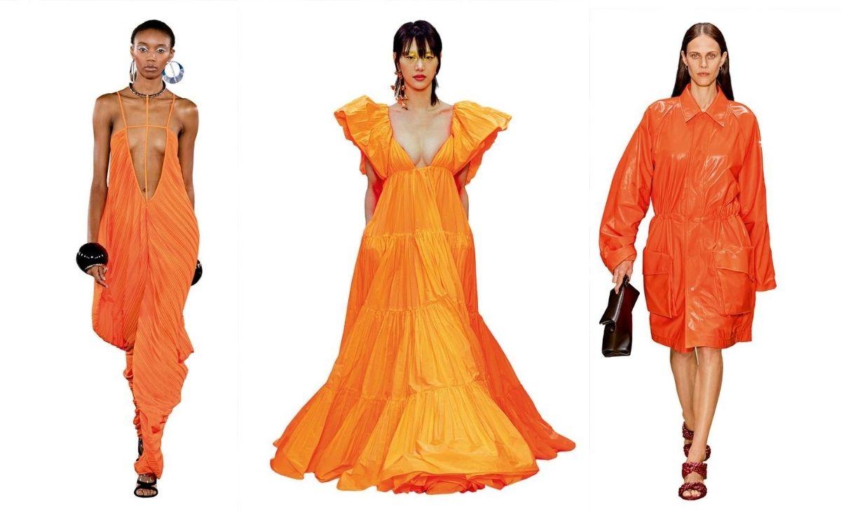 Spacer po oranżerii - wszystkie odcienie pomarańczy