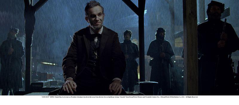 Daniel Day Lewis jako Lincoln