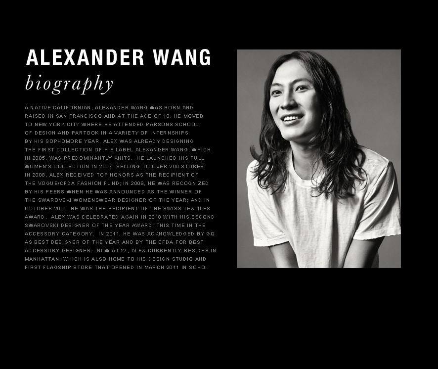 Alexander Wang dyrektorem artystycznym Balenciagi