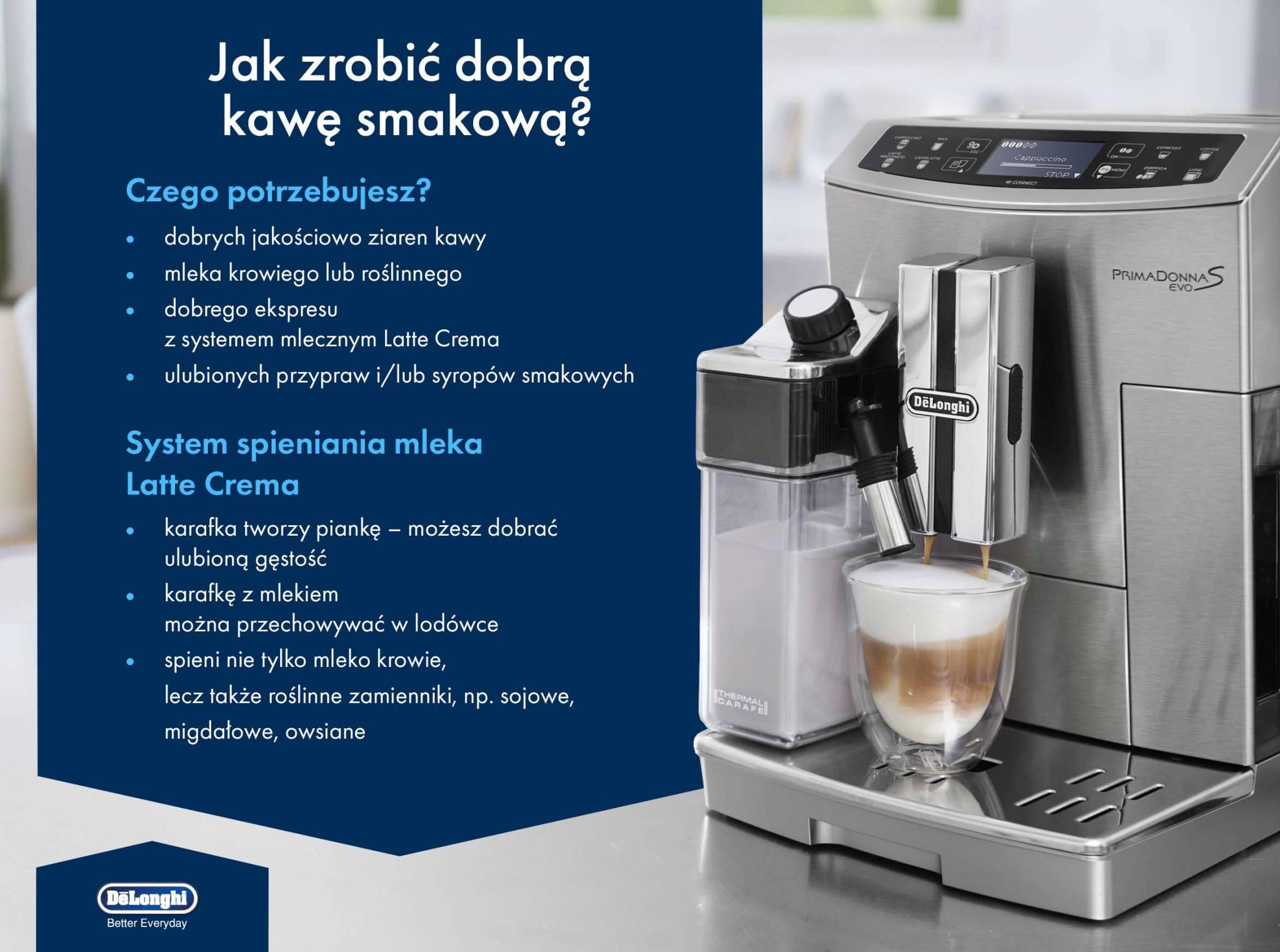 Jak zrobić dobrą kawę smakową?