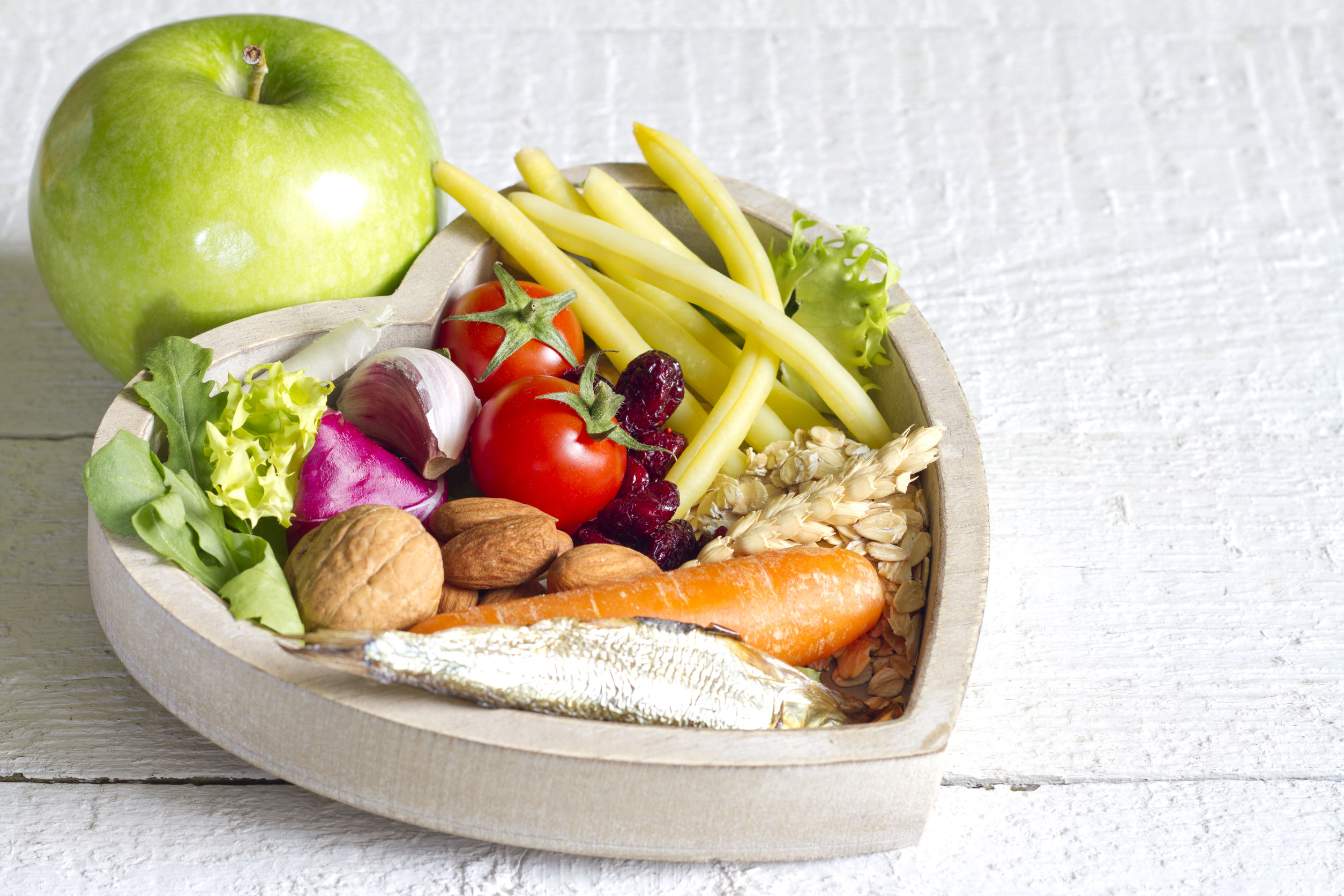 39335770 - healthy food in heart diet abstract concept