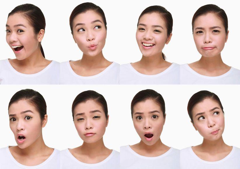 Cwiczenia twarzy