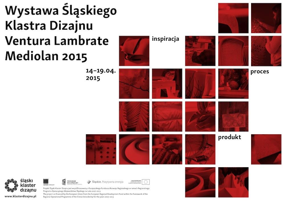 Wystawa Śląskiego Klastra Dizajnu, Mediolan 2015