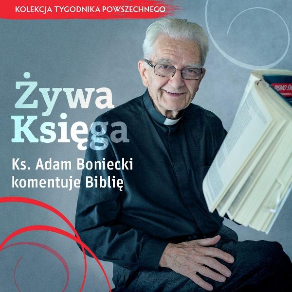"""""""Żywa Księga. Ks. Adam Boniecki komentuje Biblię"""" - płyta DVD"""