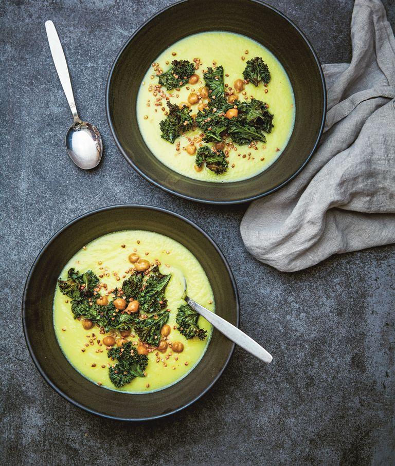 Zdrowe zupy wegańskie