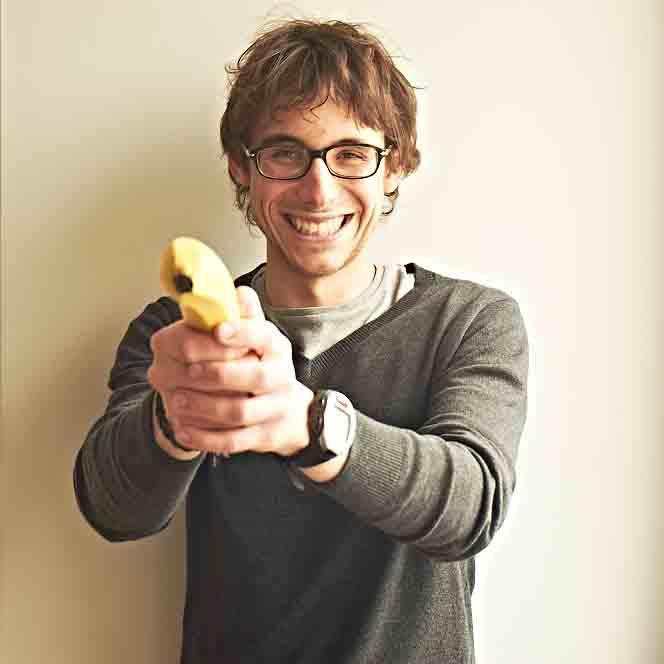 Tomek Woźniak: Zjem wszystko