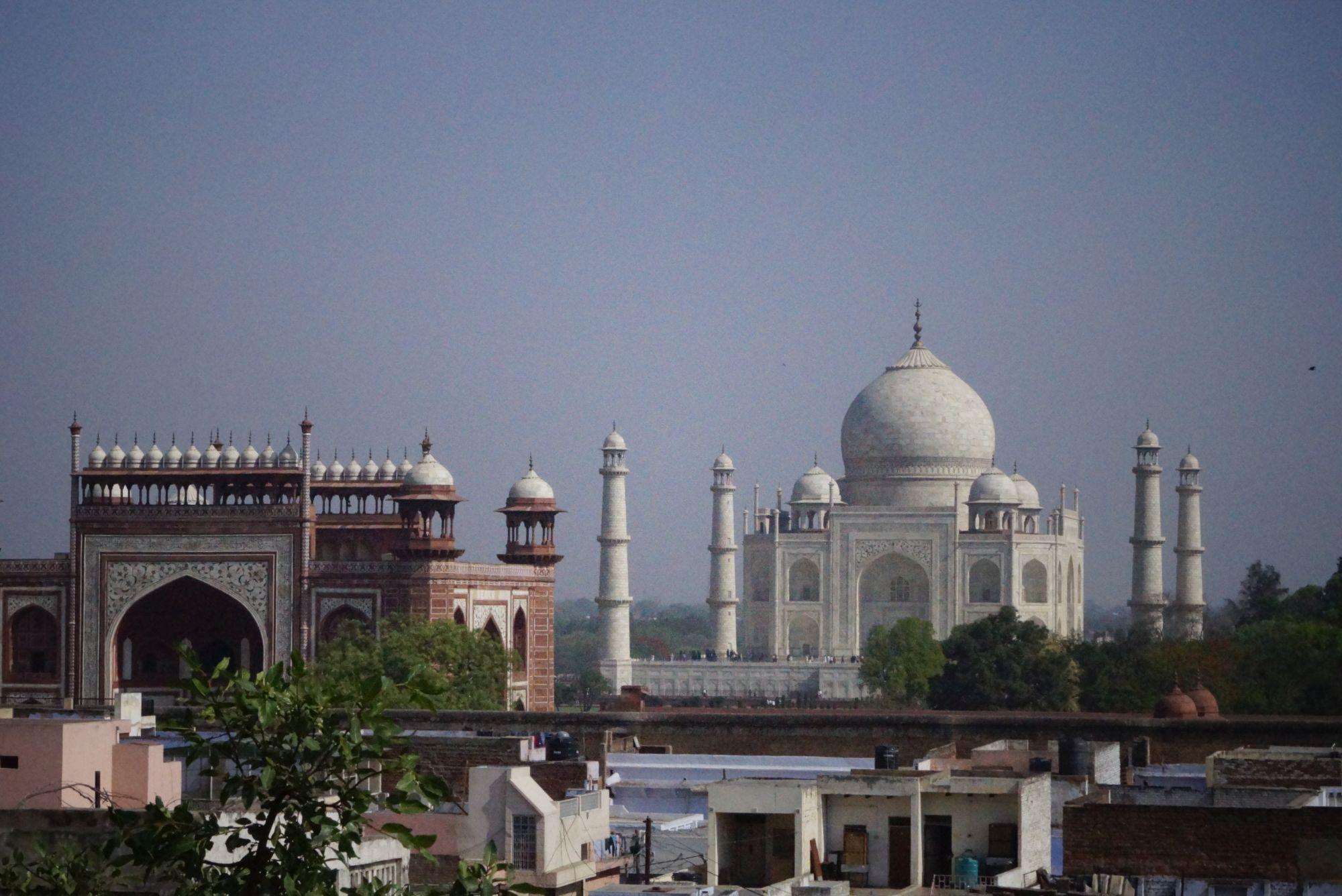 Mieliśmy hotel z widokiem na Tadż Mahal