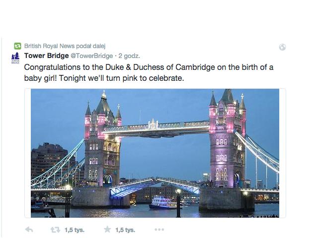 Wielka Brytania świętuje narodziny Royal Baby 2