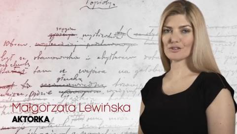 Dzisiaj teatr jest niszowy - wywiad z Małgorzatą Lewińską