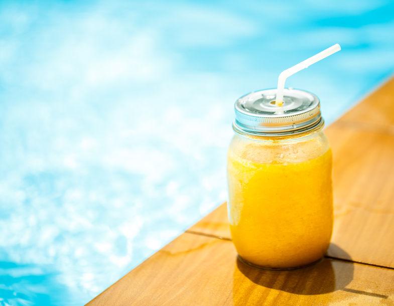 Smoothie z mango i limonki