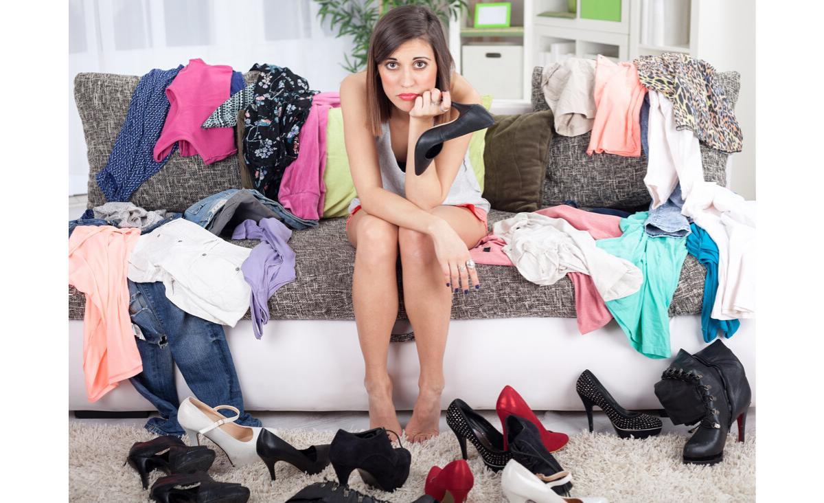 Odświeżanie zawartości szafy - tanio i ekologicznie