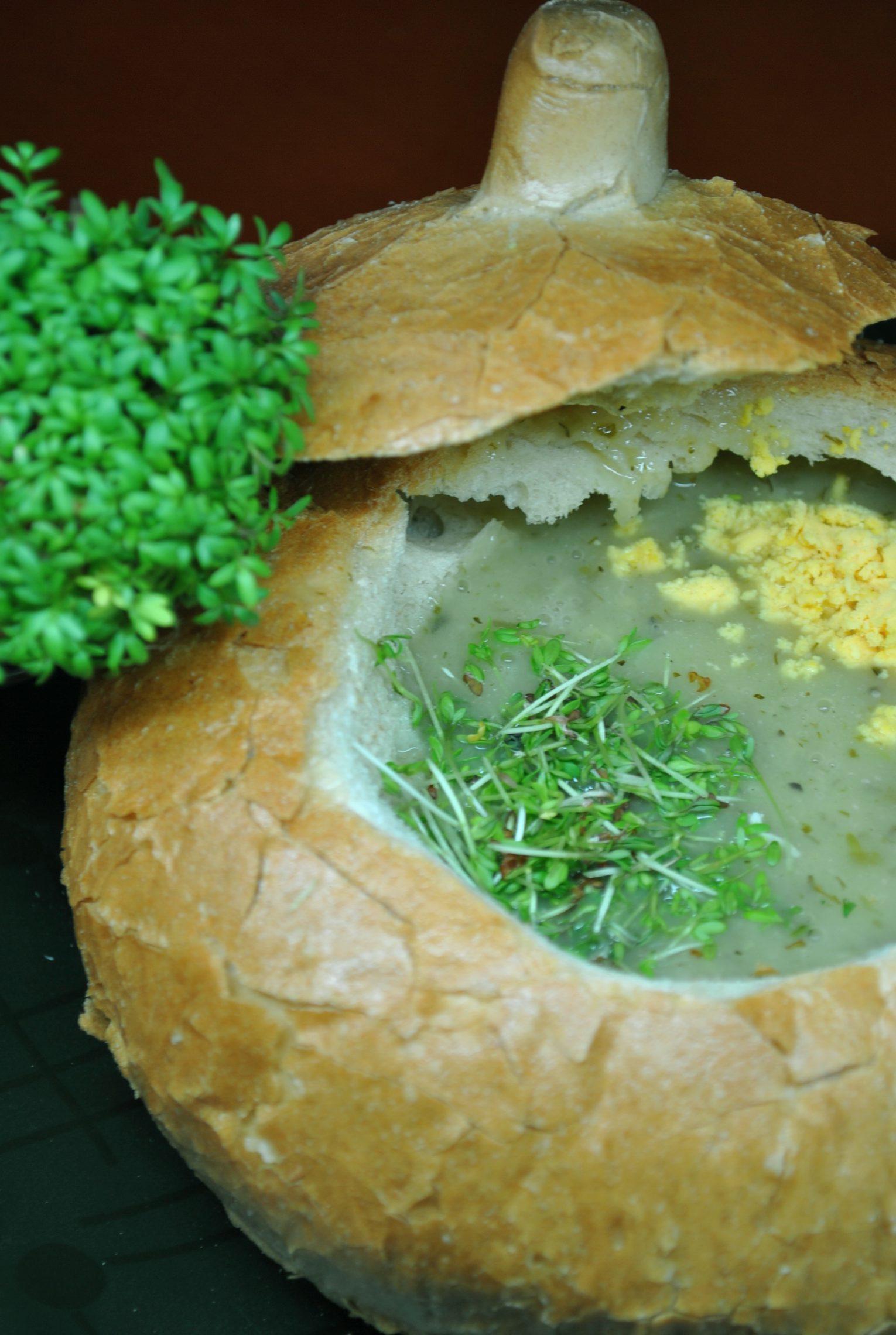 Zupa rzeżuszanka