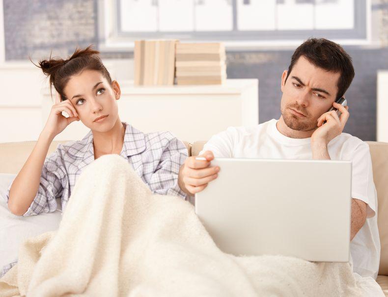 Nowy związek - stary problem