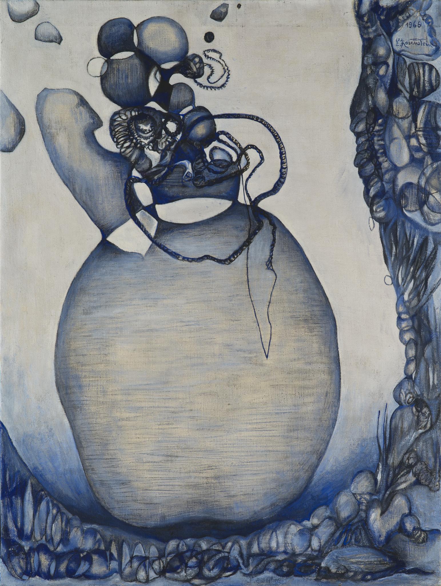 Erna Rosenstein - malarka od stóp do głów wyjątkowa