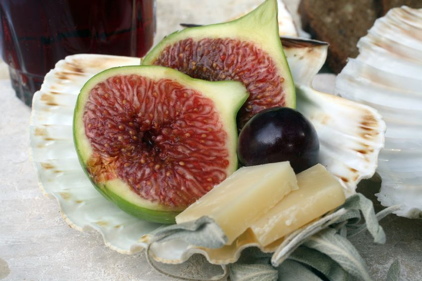 Konfitura z winogron urozmaicona o figi