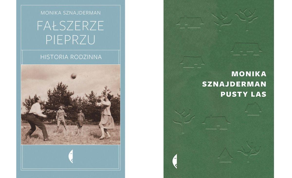 Książki autorstwa Moniki Sznajdermann, Wydawnictwo Czarne (materiały prasowe)