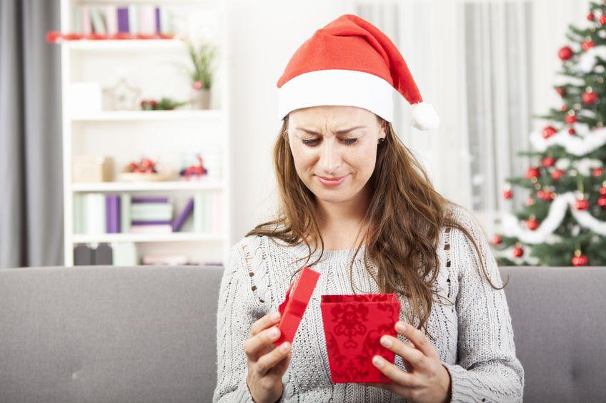 Nietrafiony prezent co trzeciemu Polakowi potrafi zepsuć święta