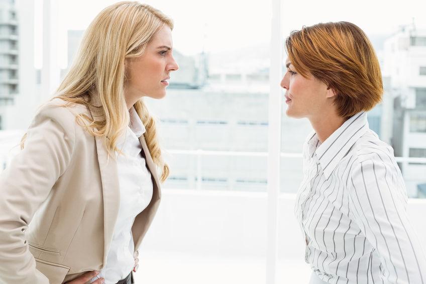 Konfliktowe osoby w pracy