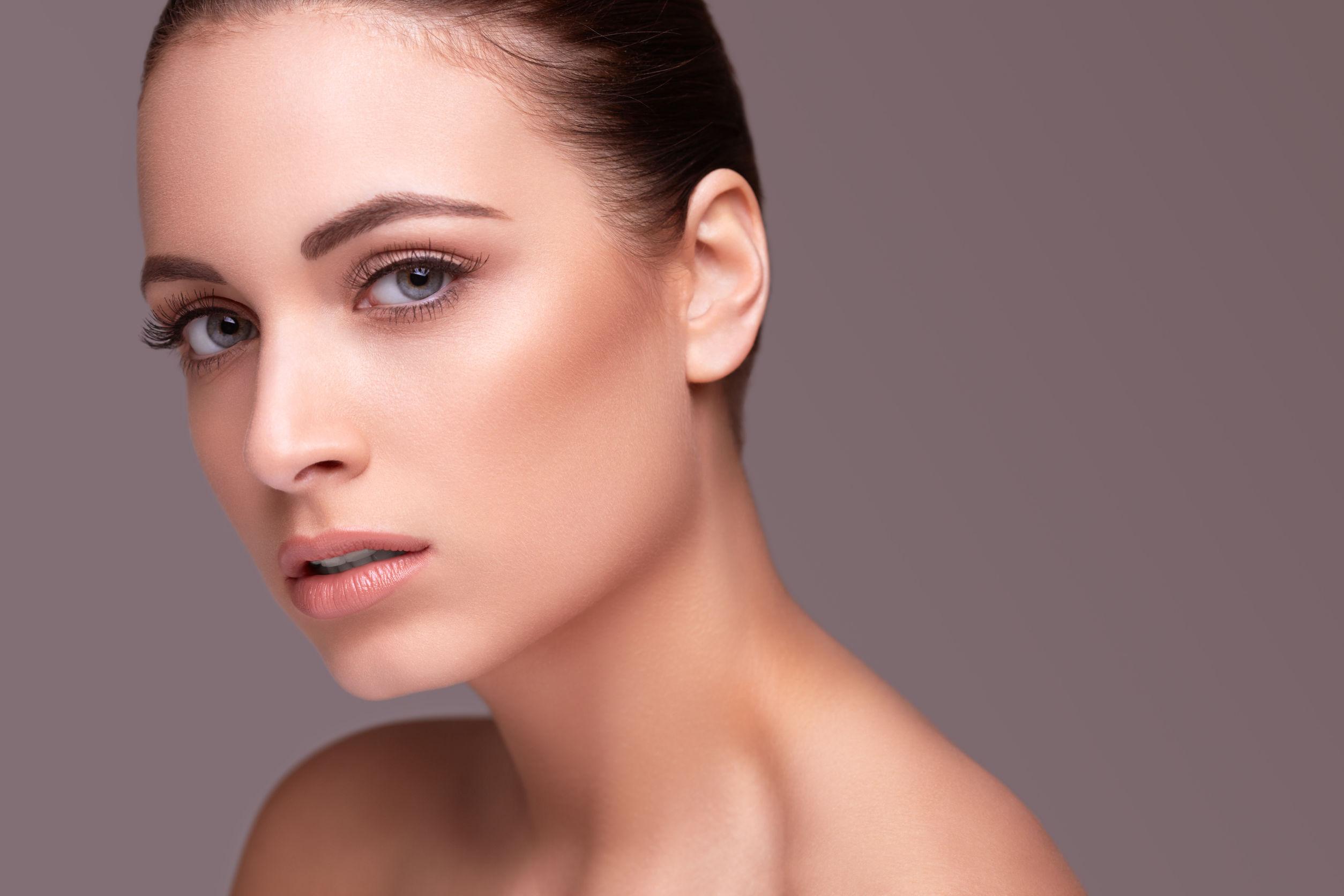 45743454 - beauty shot. beautiful woman with healthy skin