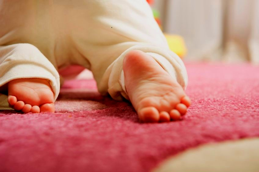 zadbaj o stopy swojego dziecka