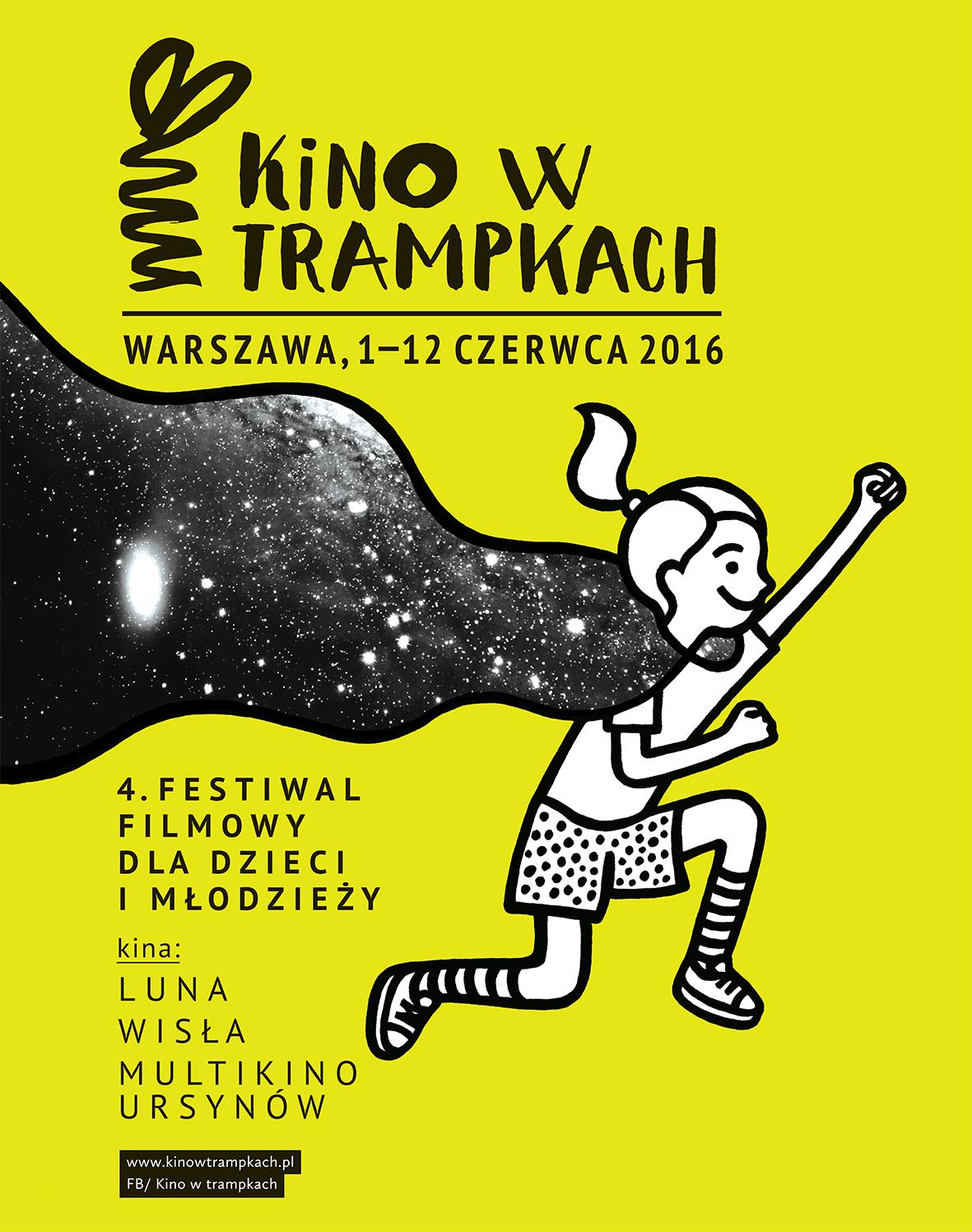 """Czwarta edycja festiwalu """"Kino w Trampkach"""" startuje już w dzień dziecka!"""
