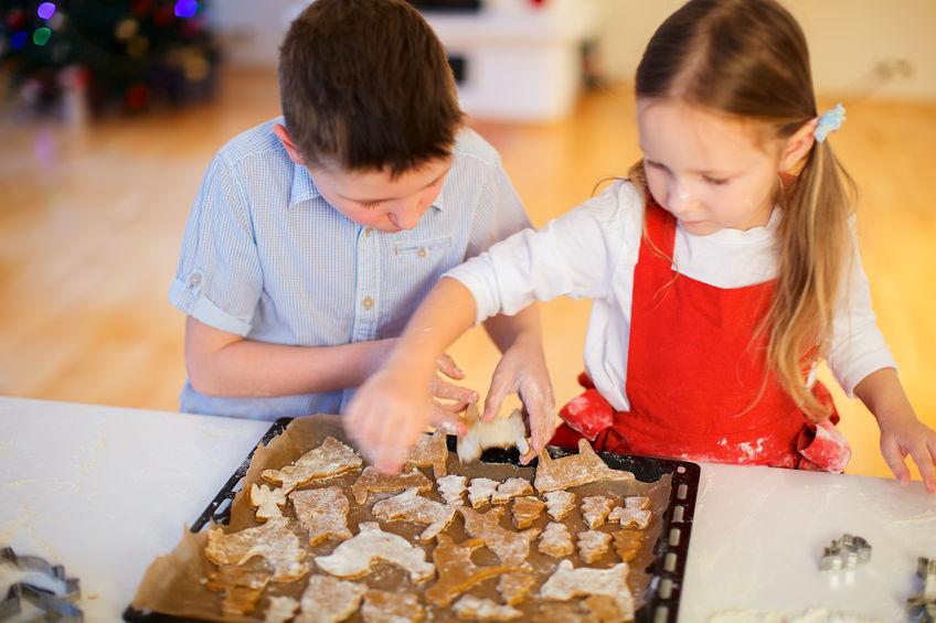 Przygotowania do Świąt z dziećmi