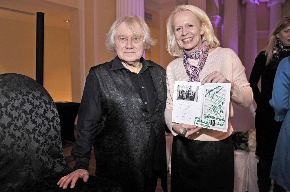 Gwiazdy na jubileuszu Maestro Jerzego Maksymiuka w Hotelu Bellotto