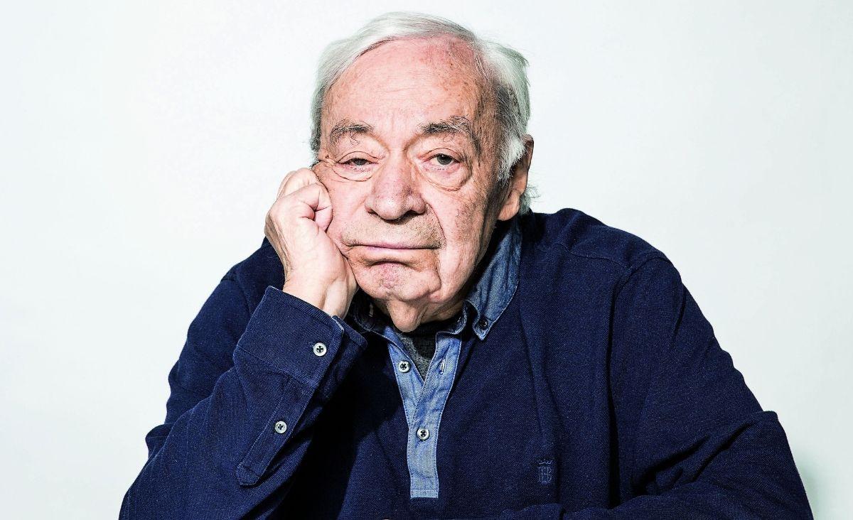 Józef Hen, pisarz i publicysta (Fot. Albert Zawada/Agencja Gazeta).