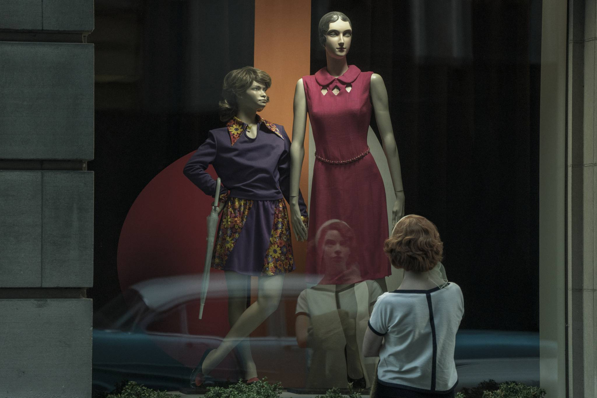 """""""The Crown"""", """"Gambit królowej"""" - pokaz serialowych kostiumy"""