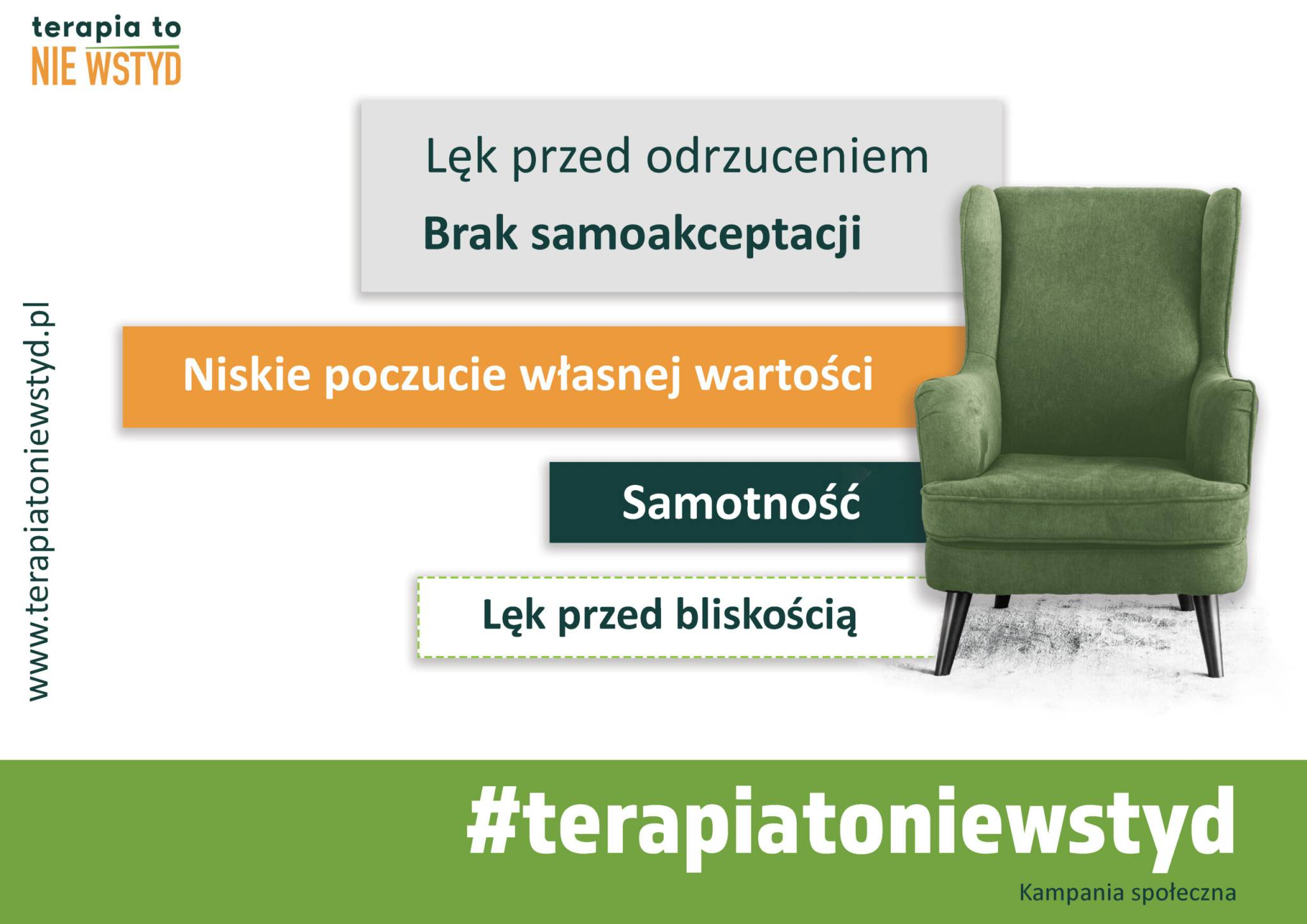 """""""Terapia to NIE WSTYD"""" – nowa kampania społeczna"""
