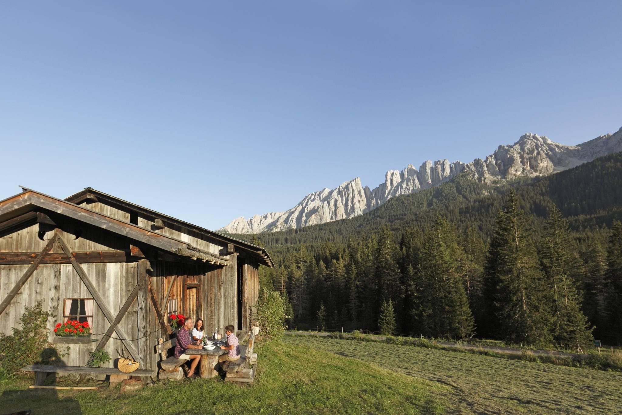 Cztery pory roku w Południowym Tyrolu