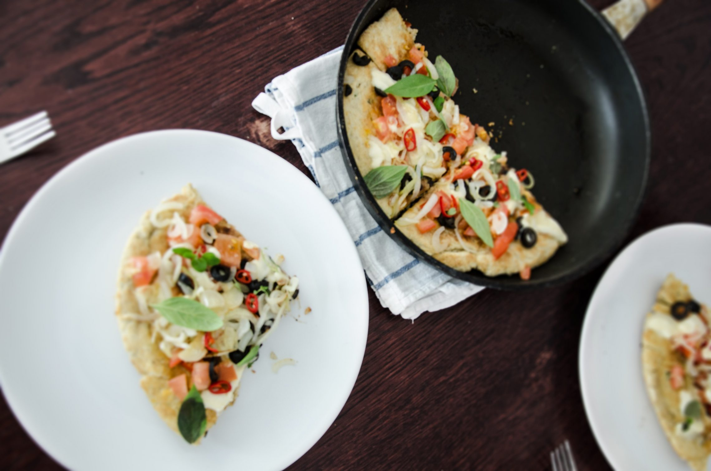 Dziarskie Gotowanie: pizza z patelni