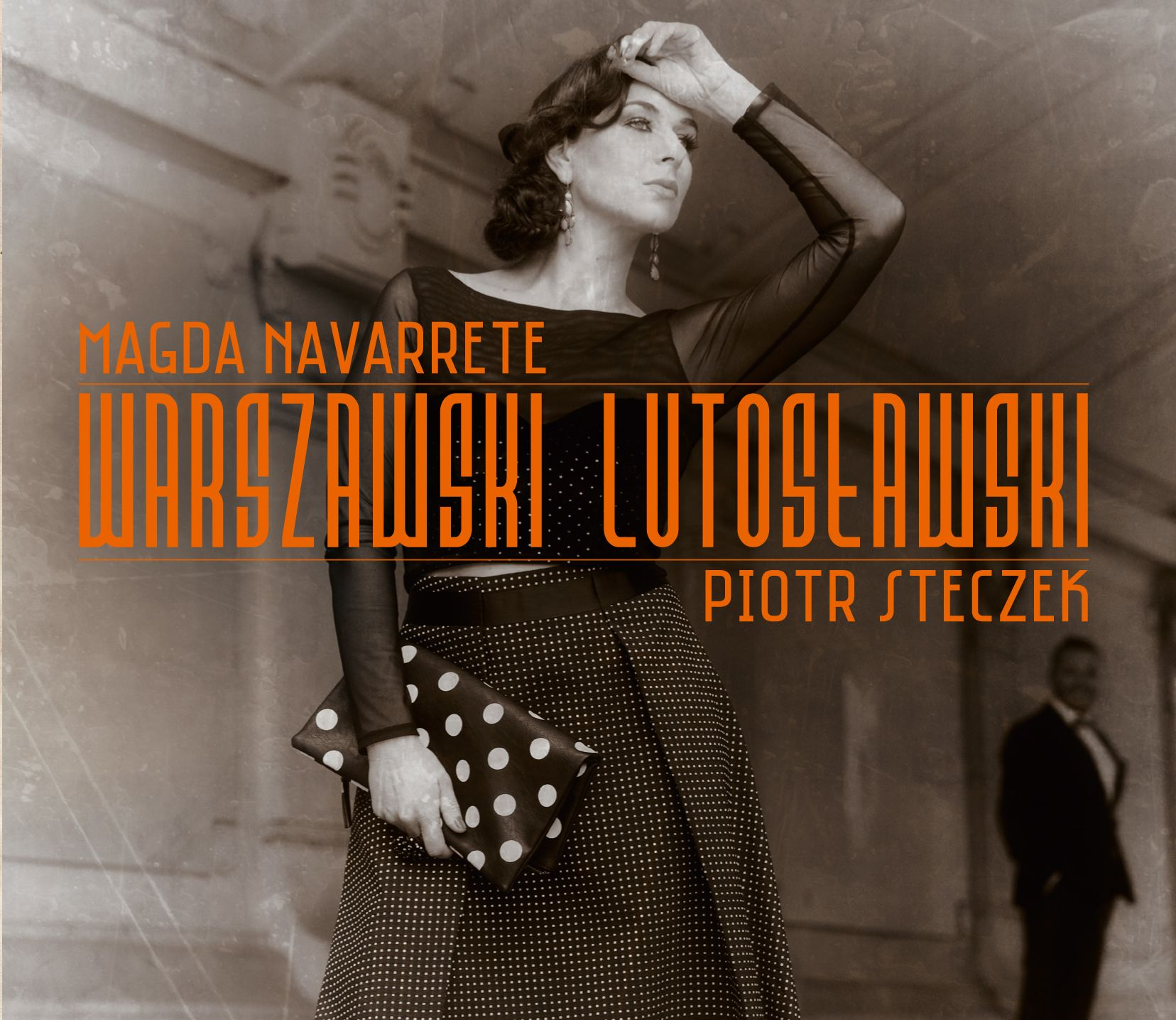 """""""Warszawski Lutosławski"""". Nowa płyta Magdy Navarrete i Piotra Steczka"""