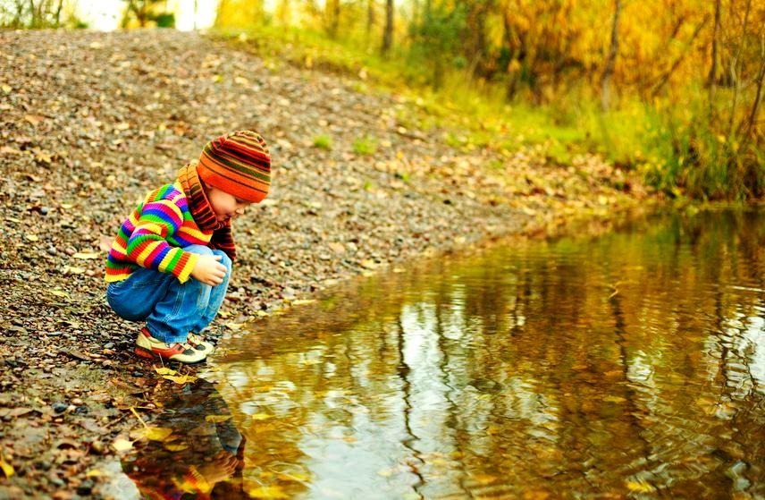 Zdrowe dziecko w zimie