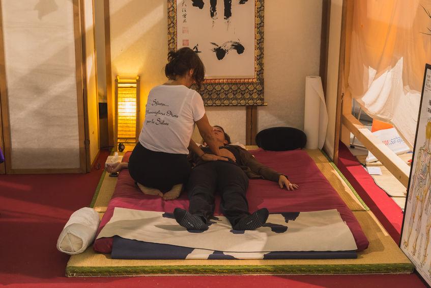 Shiatsu – masaż holistyczny