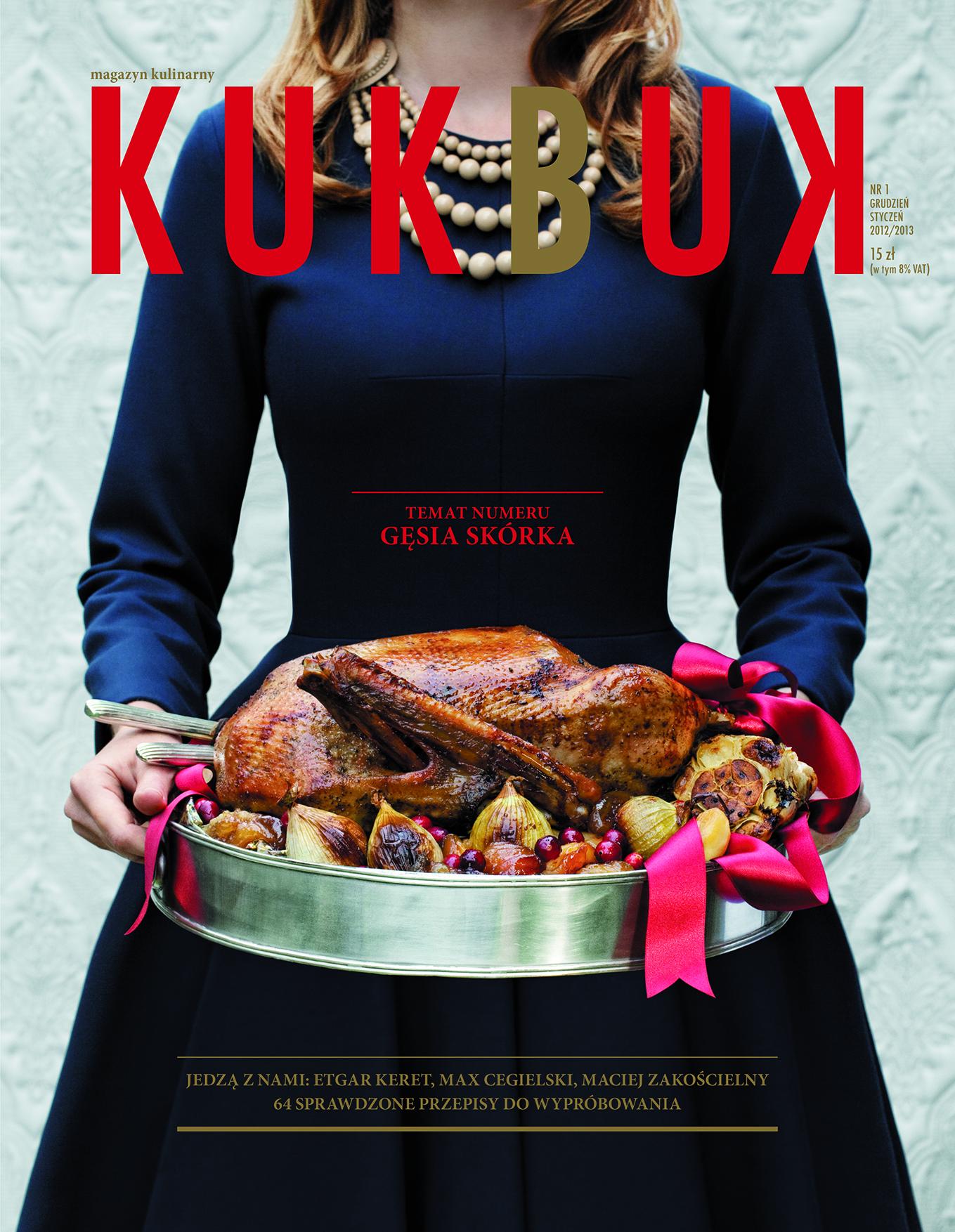 """Magazyn kulinarny """"KUKBUK"""" wchodzi na rynek"""