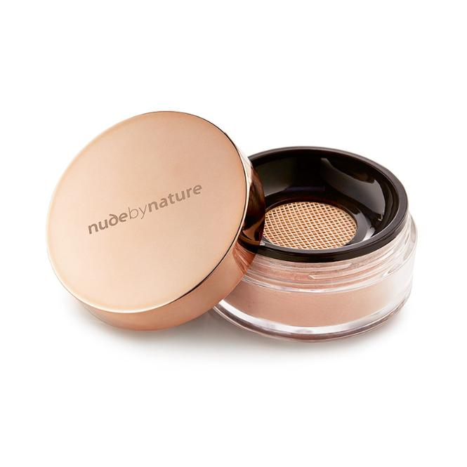 Podkład Radiant Loose Powder Foundation Nude by Nature, cena 139 zł/10 g