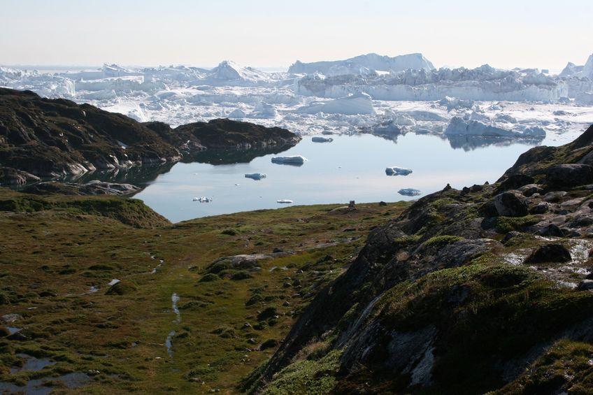 123RF.com / Sermermiut i Icefjord, w pobliżu Ilulissat, Grenlandia